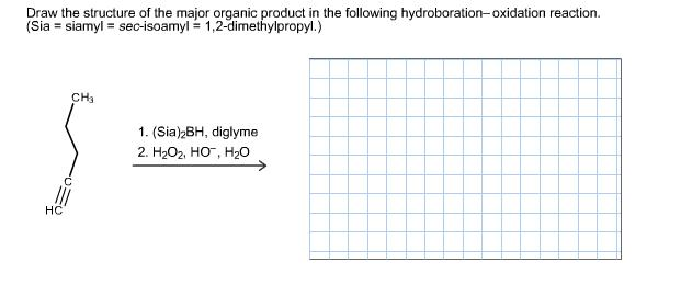 Scribble Drawing Questions : Solved draw the structure of major organic product in