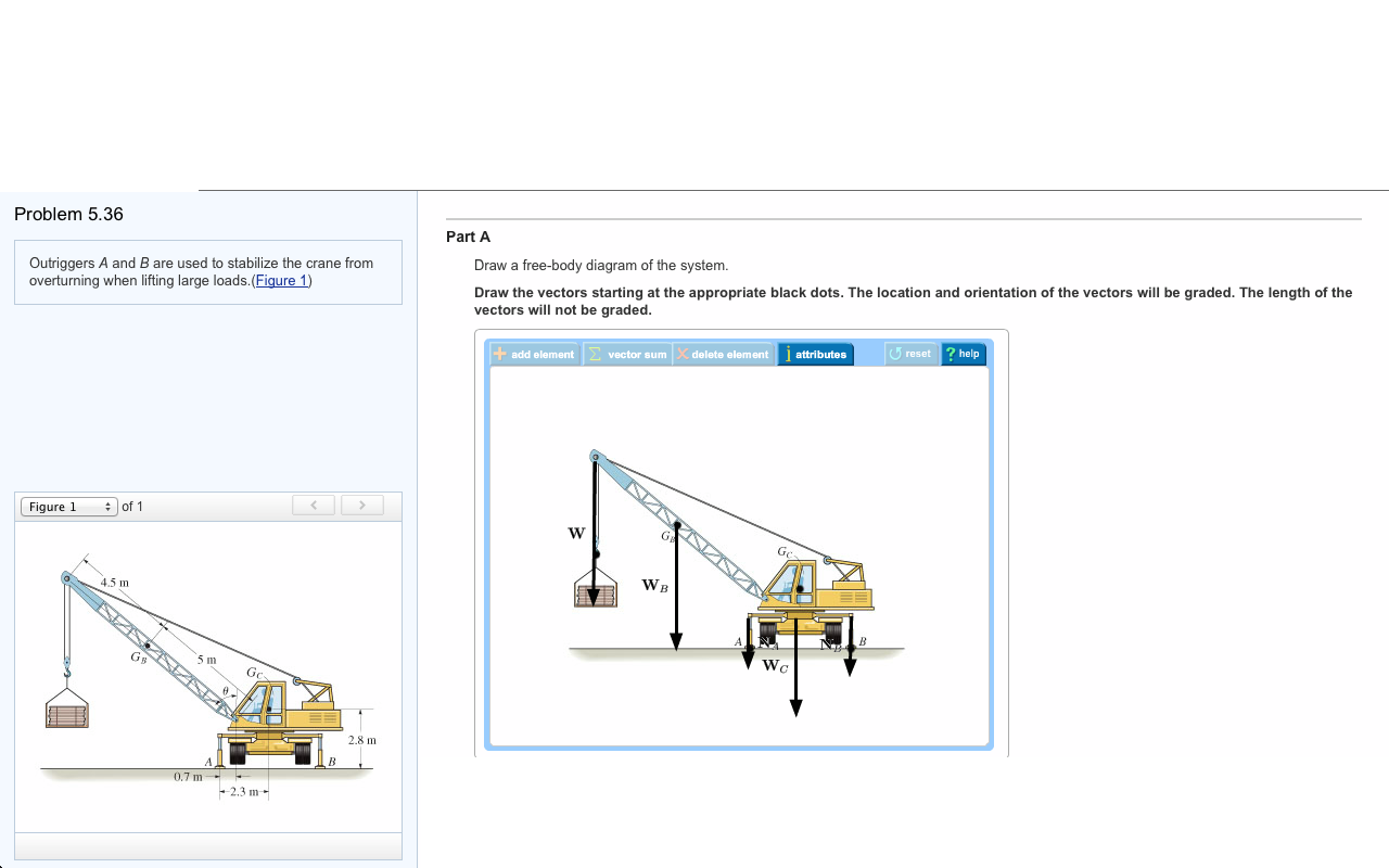 Mobile Crane Questions And Answers : Outriggers a and b are used to stabilize the crane