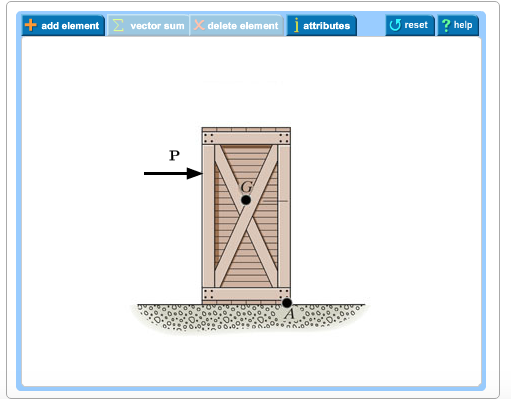 Part A Draw A Free-body Diagram Of The Crate That ... | Chegg.com
