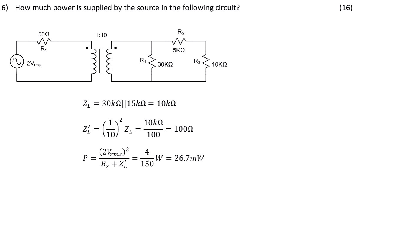 Match the voltage and current waveforms with the c