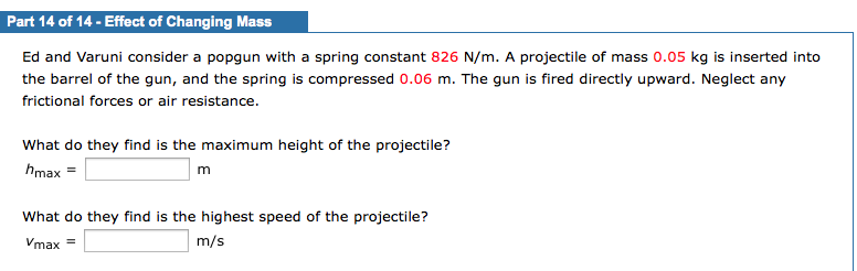 how to find maximum distance a spring is compressed