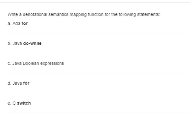 how to write a mapping statement math