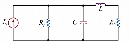 A capacitor is charged by a constant current of 8