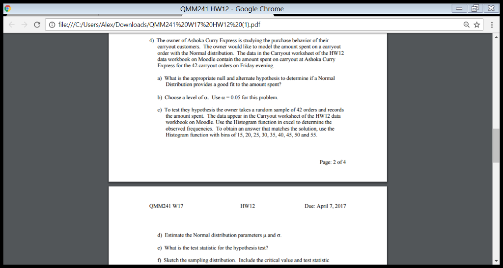 Job Worksheets Pdf Qmm Hw Google Chrome C File Cusersalex  Cheggcom 1 Digit Multiplication Worksheets with Reading Comprehension Worksheets Multiple Choice Excel Qmm Hw Google Chrome C File Cusersalex Grade 7 Math Worksheets Printable Pdf