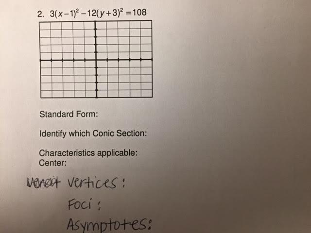 Solved 3x 12 12 Y32 108 Standard Form Standar