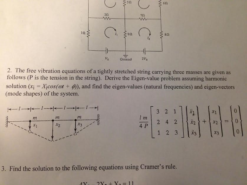 Vibration homework solutions