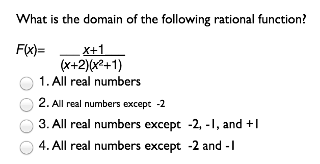 how to write x is all real numbers