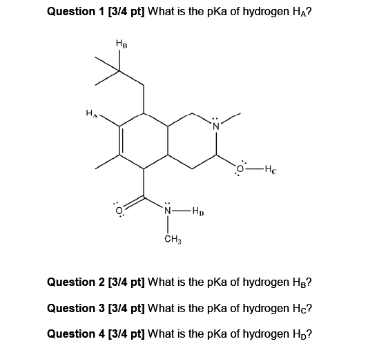 What is the pKa of hydrogen HA? What is the pKa o