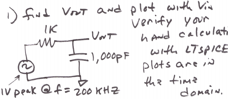 Find Vout and plot with Vin Verify your hand calcu