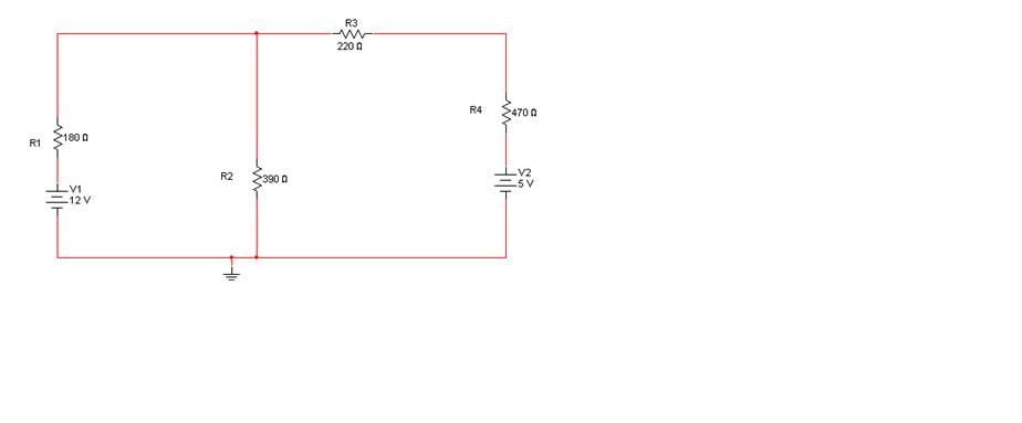 For the circuit in Figure 4-2 below, simulate usin