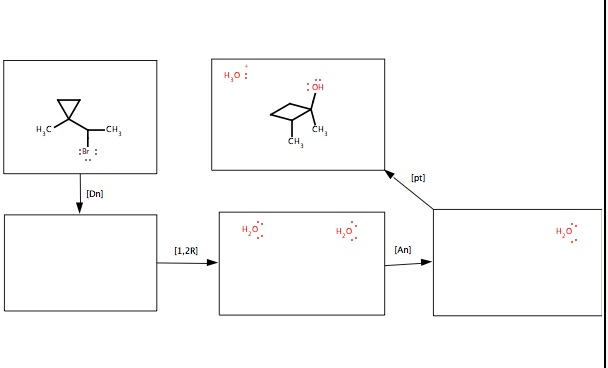 Draw a mechanism for this reaction. All compounds