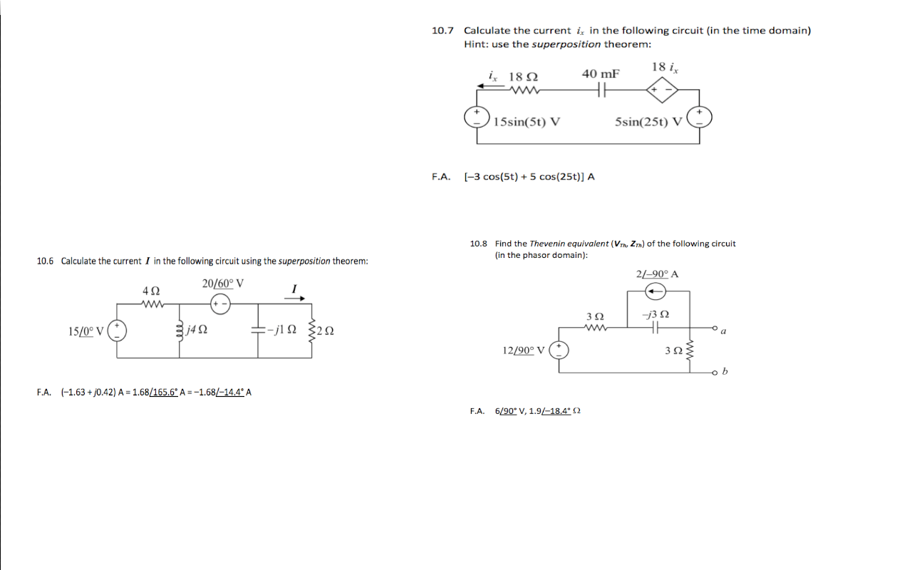Calculate the current I in the following circuit u