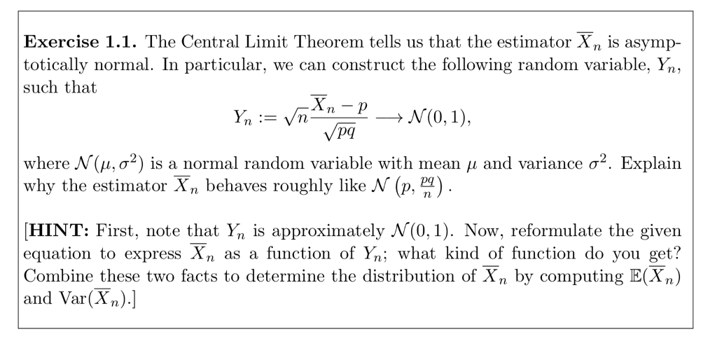 Homework help central limit theorem