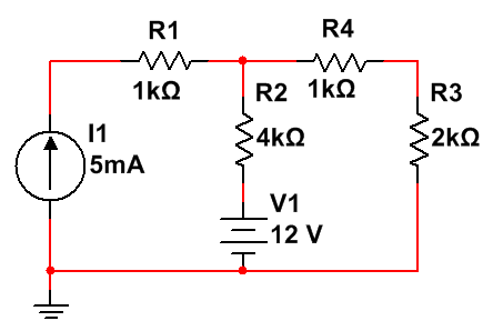 Find the voltage drop across&n