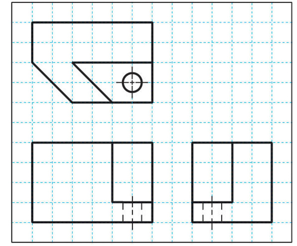 Drawing Smooth Lines Questions : Solved find missing lines from the multiview drawing belo