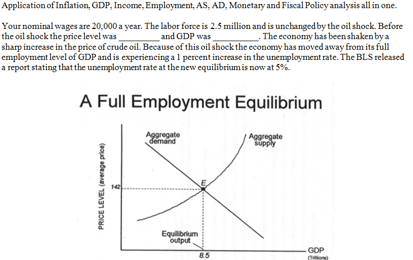 explain the effects of monetary policies on the economy s production and employment What will 2012 be like for the global economy two of the world's leading economists enlighten debate: 2012 updated: 2011-12-26 with the worst effects of.
