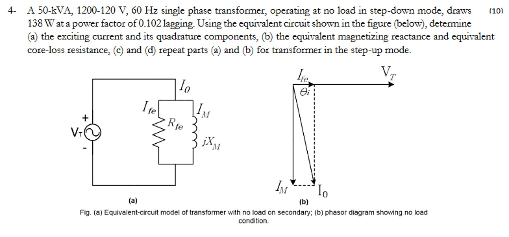 Solved a 50 kva 1200 120 v 60 hz single phase transform a 50 kva 1200 120 v 60 hz single phase transform ccuart Images