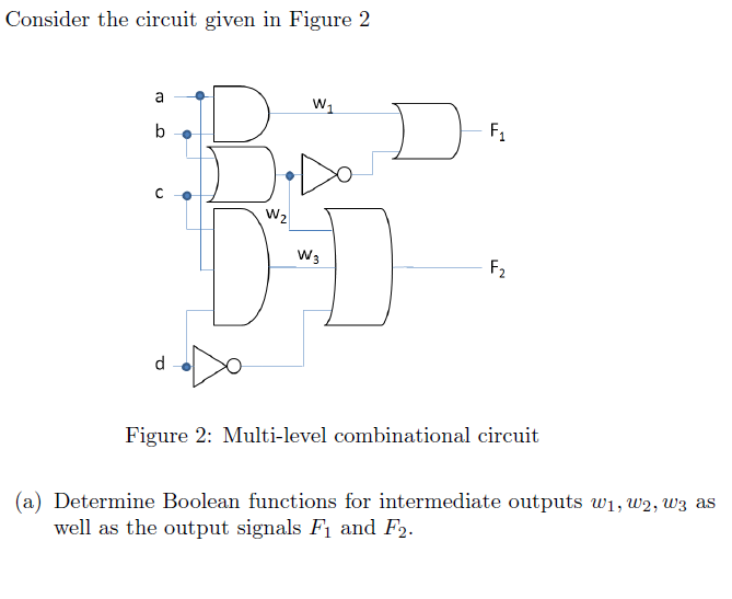 Consider the circuit given in Figure 2 Figure 2: