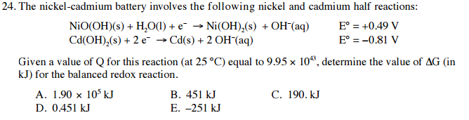 Solved: The Nickel-cad...