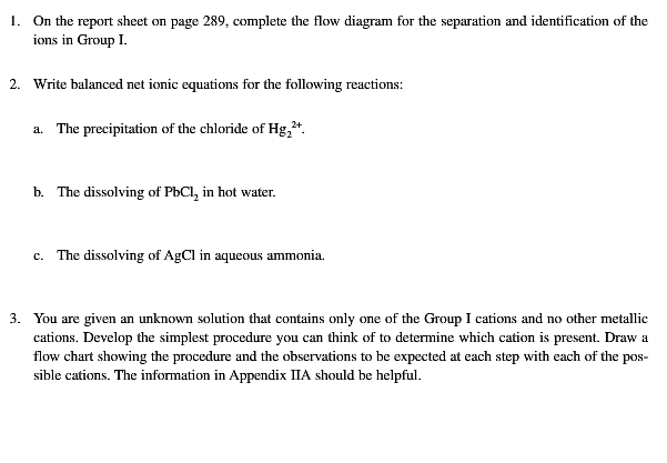 identification of metallic ions Paper chromatographic separation and identification of metal ions structure 41 introduction objectives 42 theory of chromatography 44 experiment 4a: separation and identification of cations of analytical group i hold the paper in an atmosphere of h2s gas until the zones of metallic.