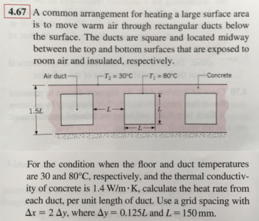 A Common Arrangement For Heating A Large Surface A