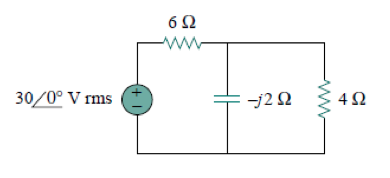 Determine the power factor of the entire circuit a