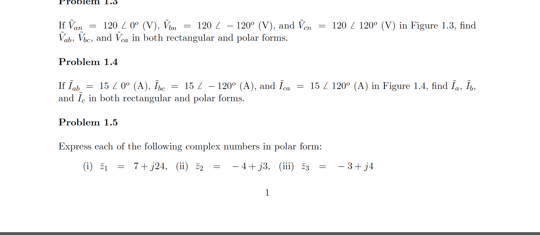 Consider Figure 1.2 and show that in both rectang