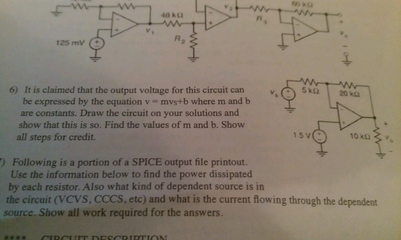 It is claimed that the output voltage for this cir