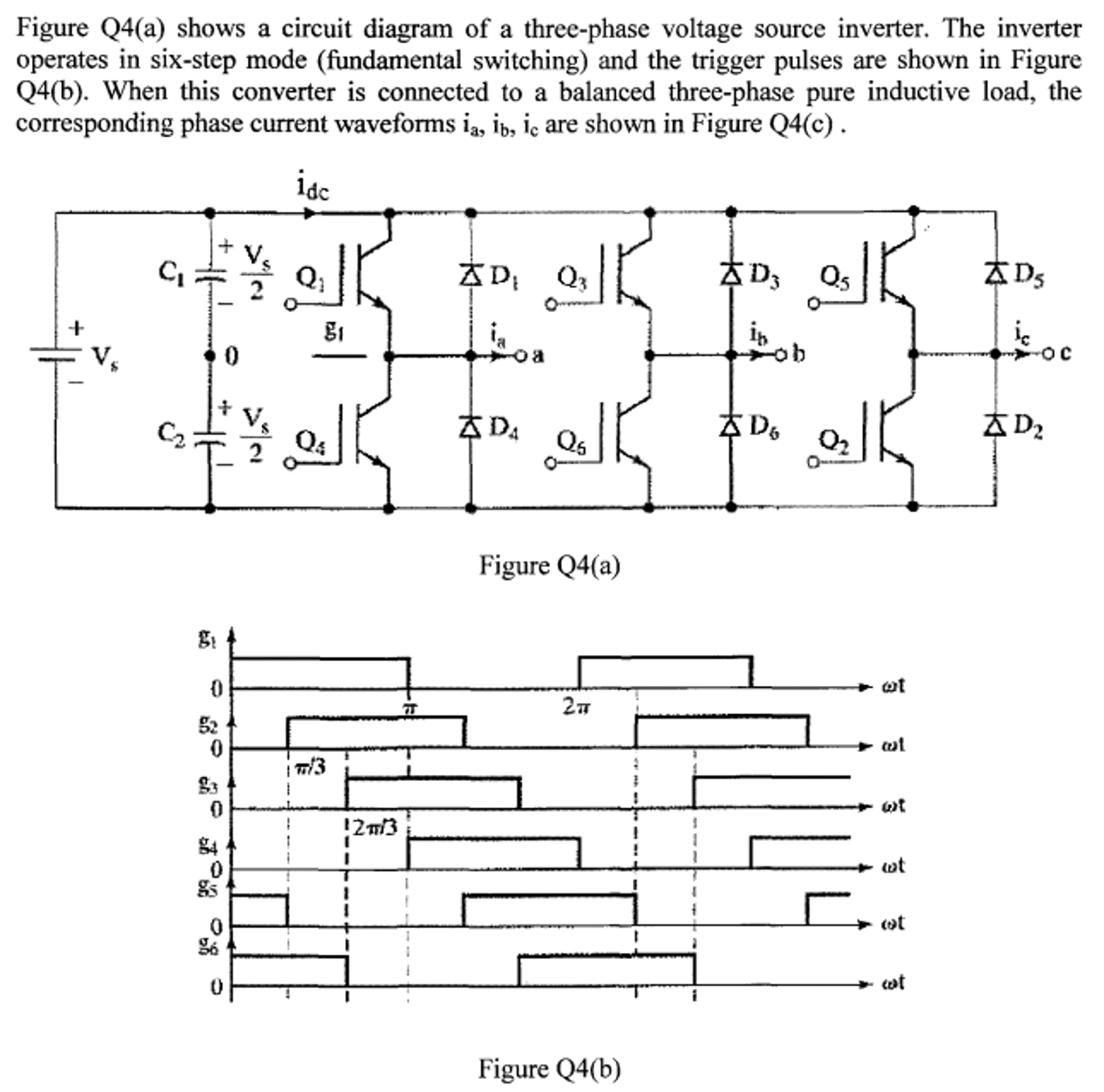 a circuit diagram of a three