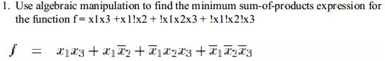 Use algebraic manipulation to find the minimum sum