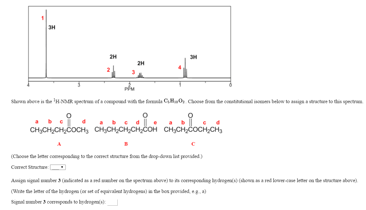 Shown Above Is The 'H-NMR Spectrum Of A Compound W... | Chegg.com