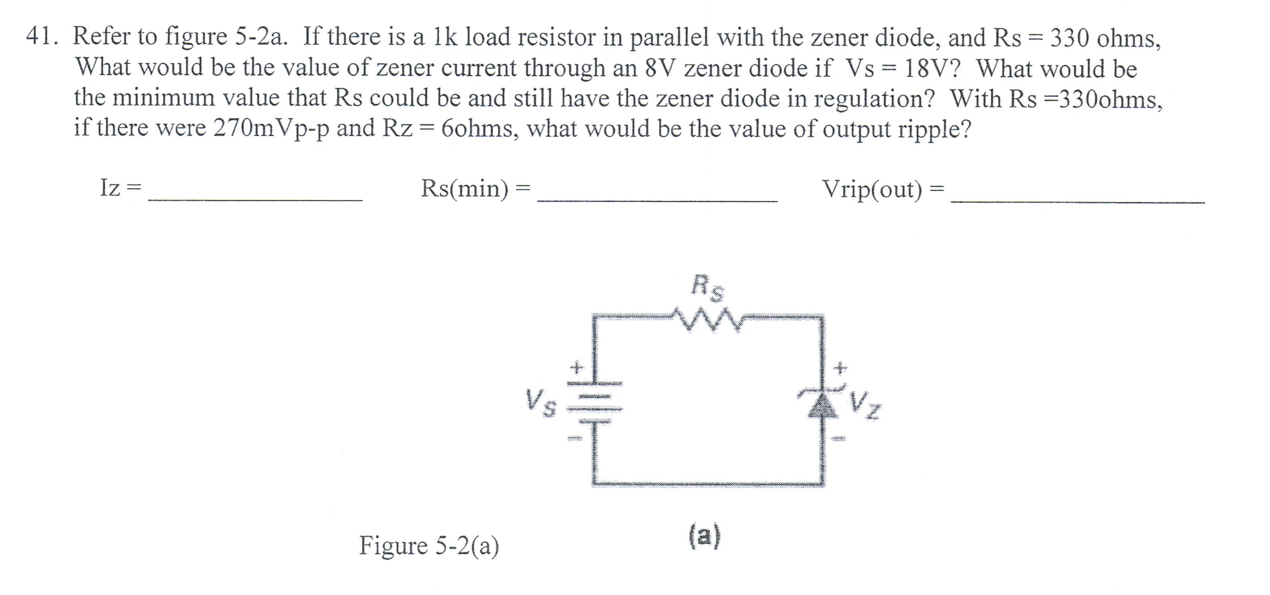 Refer to figure 5-2a. If there is a lk load resist