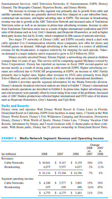 walt disney company 2009 mernoush banton The case features the walt disney company, one of the most successful, well-known, and best management global companies in the world widespread content updates - fifty percent brand new or improved assurance of learning exercises appear at the end of all chapters.