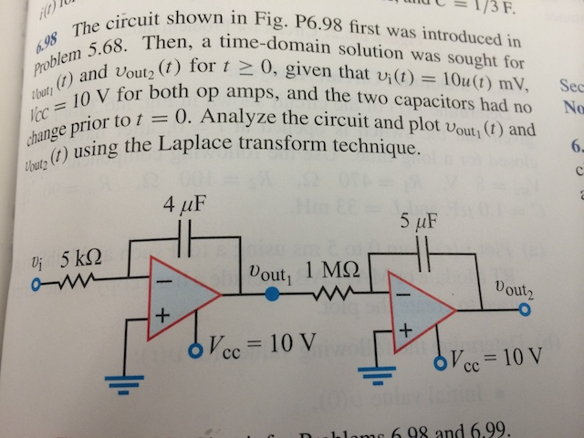 The circuit shown in Fig. P6.98 first was introduc