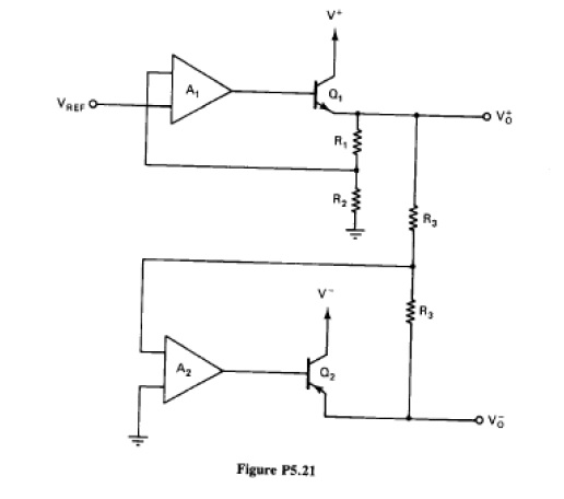 (Tracking voltage regulator) Referring to Figure P