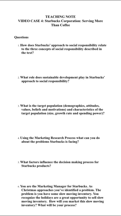 what role does sustainable development play in starbucks approach to social responsibility The times, they are a-changin' so is the way we do business and the way companies present themselves to their customers related: 7 steps to up your corporate social responsibility game.
