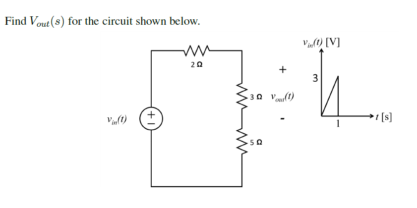 Find Vout(s) for the circuit shown below.