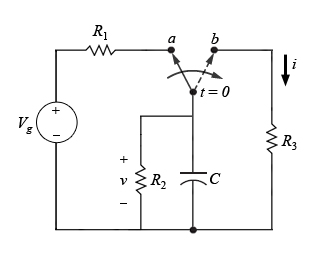 For the original circuit, find an expression for