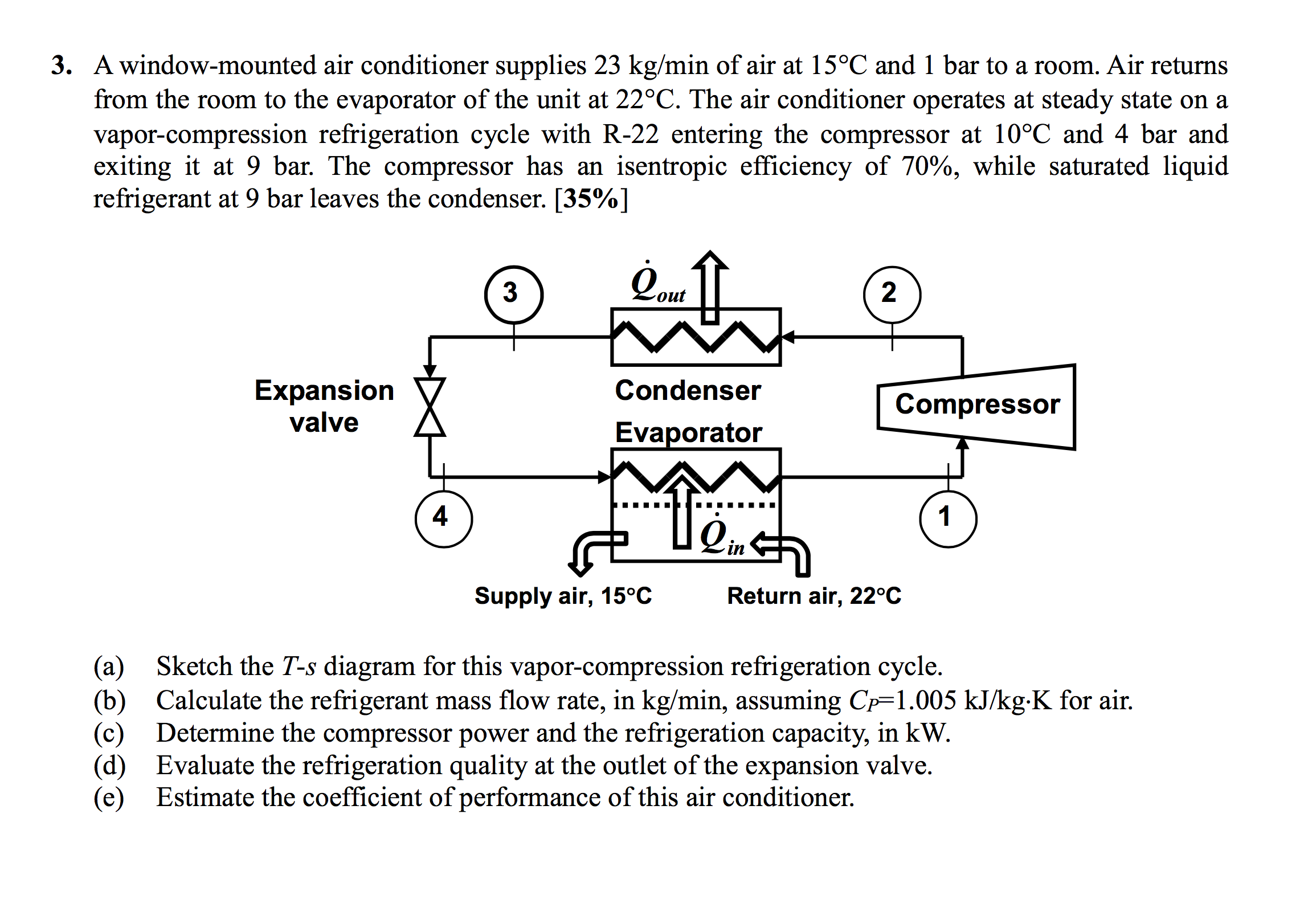 Solved a window mounted air conditioner supplies 23 kgmi a window mounted air conditioner supplies 23 kgmi pooptronica