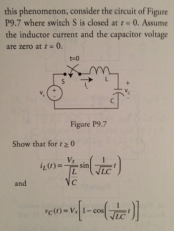 For the circuit in the previous problem, find the