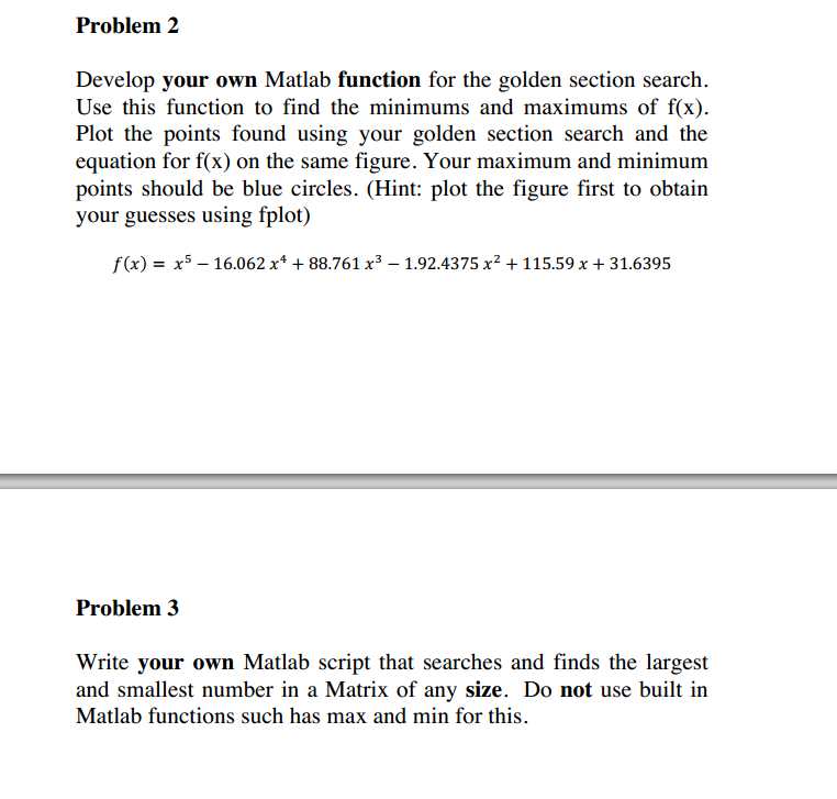 matlab write own help Matlab books forums and help contact basics  a code with for-loops in matlab the pascal's triangle is a triangular array of the binomial  write only the.