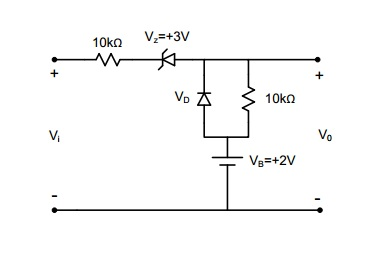 Draw and explain vo output related to vi. vi is ch