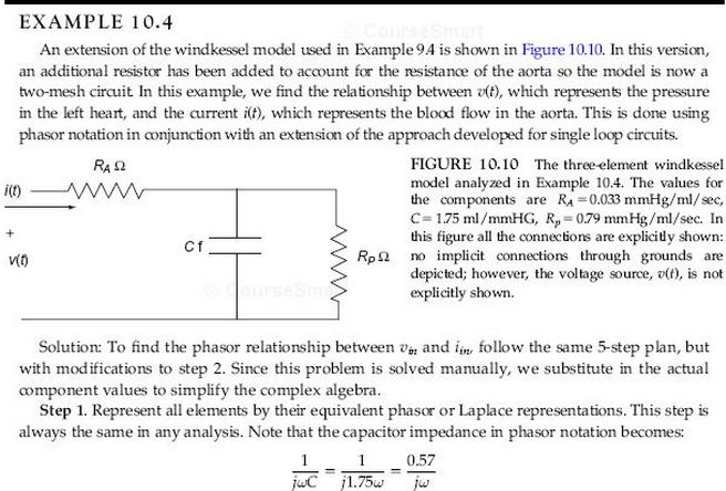 Rework Example Problem 10.4 with RA=0.05, RP = 1.0
