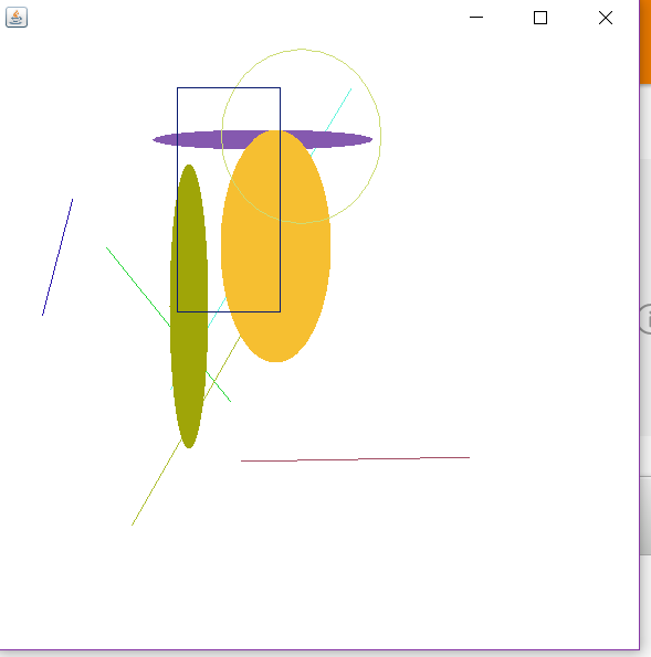 Drawing Lines In Jframe : Solved graphics how to draw a cube in java with random