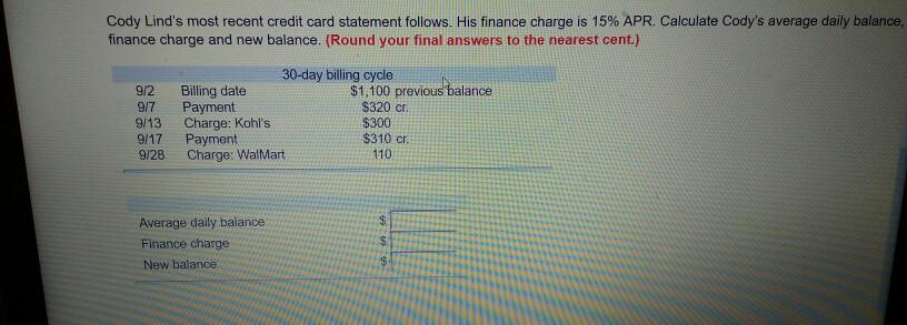 apr calculator credit card