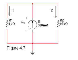 5. (TCO 5) For the circuit given in Figure 4.7 be