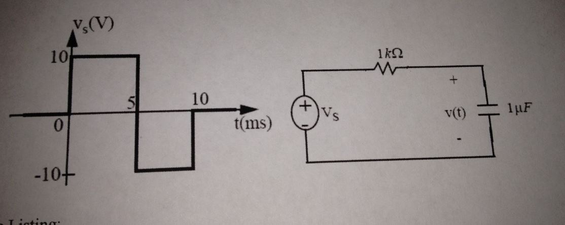 Find the node voltage V in the circuit below (coul