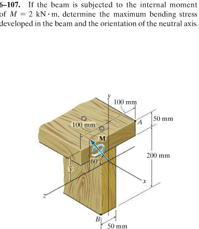 bending in a t beam str5 That applied force which produce bending in beam also produces stresses in   to perform this experiment a structural hardware 'str5 bending stress in a.