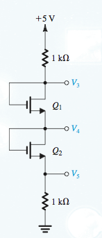 Find resistor values for the circuit shown below;