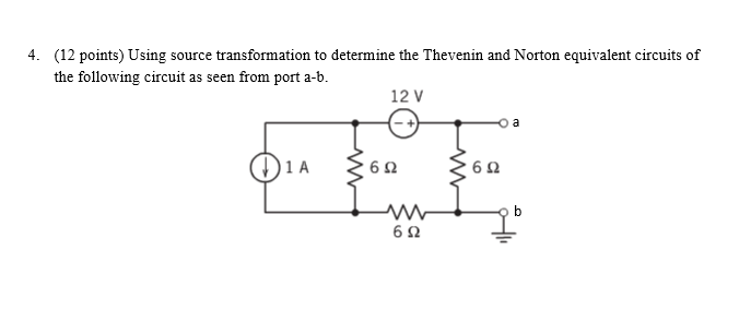 (12 points) Using source transformation to determi
